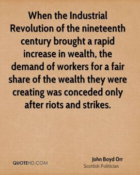 Quotes About Industrial Revolution Impact