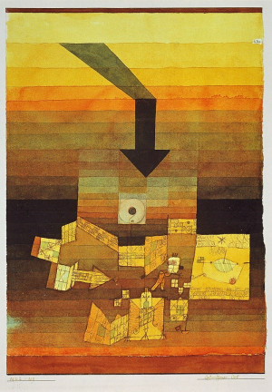 Affected Place, 1922, by Paul Klee
