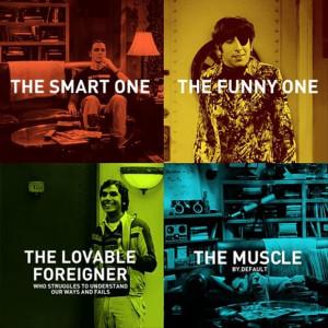 Big bang theory characters