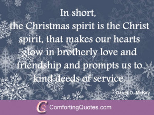 quote of david mckay on christmas helen steiner rice quote on ...