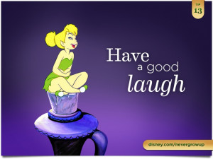 Have a good laugh. #peterpan