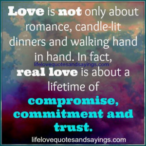 Love is not only about romance..