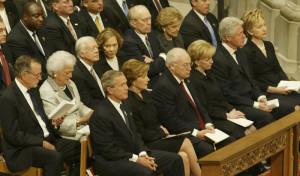 Pat Nixon Funeral 1993 Richard Nixon Crying Richard Nixon