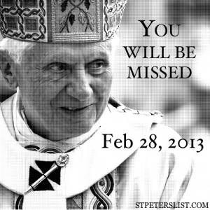 Tags: Papal Resignation , Pope Benedict XVI , Quotes