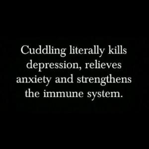 Lets cuddle!