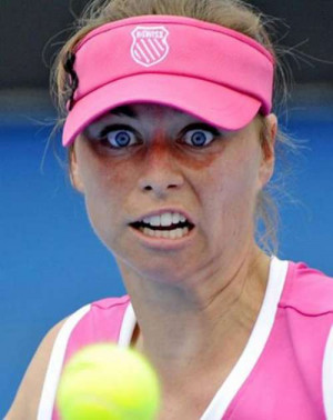 Very Funny Faces In Sport