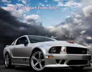 Quote Design Maker - Ford Muscle Car Quotes