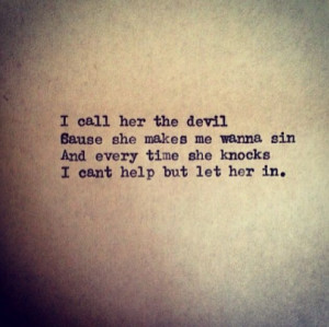 call her the devil... #Quote