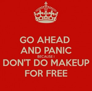 No Makeup for Free