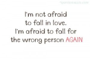 Not Afraid To Fall In Love