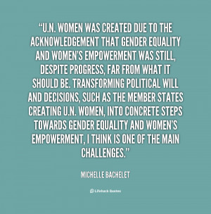 Quotes About Gender Equality