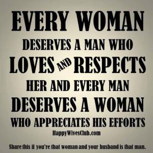 Every Woman Deserves A Man