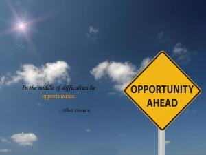 Albert Einstein Inspirational Quote wallpaper