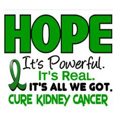Kidney Cancer Hope Posters