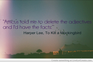 Famous Quotes From To Kill A Mockingbird Scout ~ To Kill a Mockingbird ...