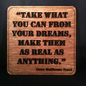 Dave Matthews Band - Grey Street - Quote 2 - Wall Art