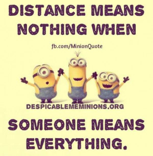 distance means distance means nothing when someone means everything ...
