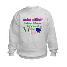 Medical Assistant Kids Sweatshirt for