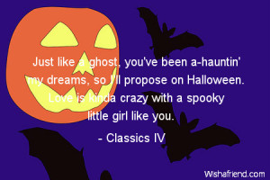 Halloween I Love You Quotes Halloween-just like a ghost,
