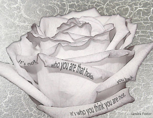 White Rose Quote