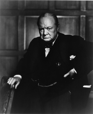 Yousuf Karsh: Winston Churchill, 1941My portrait of Winston Churchill ...