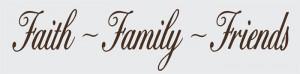 Faith Family Friends Clip Art