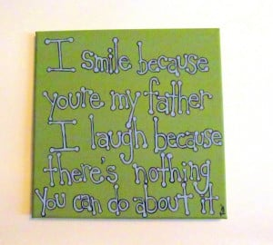 Father Daughter Quotes For Scrapbooking Father daughter gift - father
