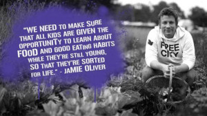 Jamie Oliver cooking course for children