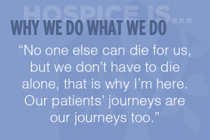 Hospice And Palliative Care Quotes
