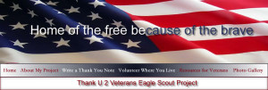 Top banner Thank You Veterans
