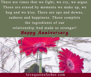 ... Anniversary Quotes, Wedding anniversary Sayings | Love Quotes for Her