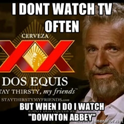 Dos Equis Man Don Always Watch Football But When