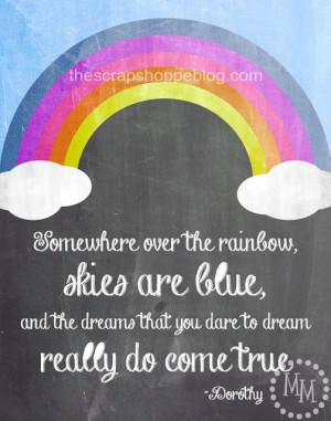Free Wizard of Oz Quote Printable