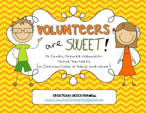 quotes thank you volunteers candy thank you volunteers quotes thank ...