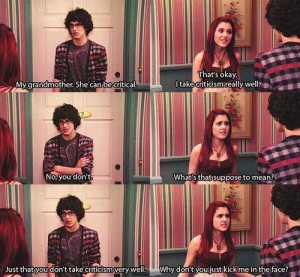 victorious funny lines - Victorious Picture