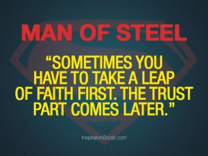 Trust Quotes – Man of Steel