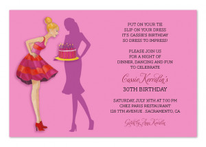 home party invitations birthday invitations chic birthday bash