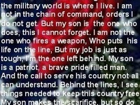 Mom Inspirational Quotes Military Inspirational Quotes Support ...
