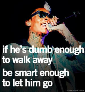 Don't chase him, replace him (: