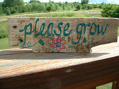 Funny Garden Signs And Markers Garden signs - garden junk