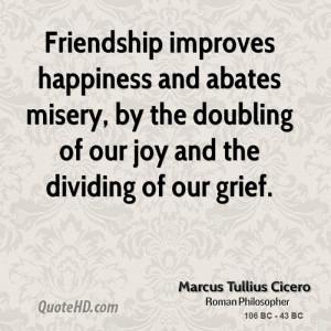 Marcus Tullius Cicero Happiness Quotes