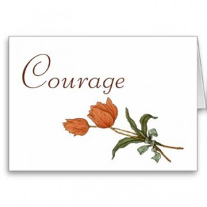 Courage for Cancer Patient, Tulips