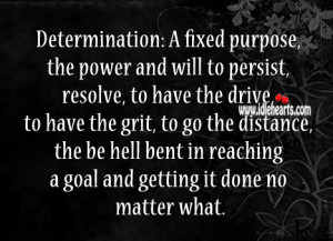 quotes about determination and goals