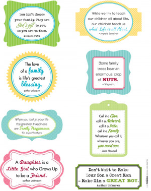 Family Quote collection from Laina Lamb found in Creating Keepsakes ...