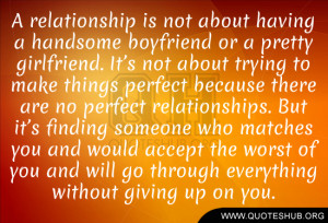 Showing Gallery For Perfect Girlfriend Quotes