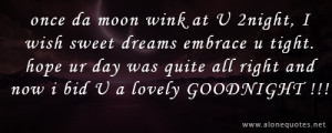 Funny Goodnight Quotes And Sayings