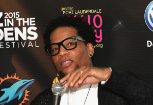 Hughley D L Hughley is interviewed at the 10th Annual Jazz in