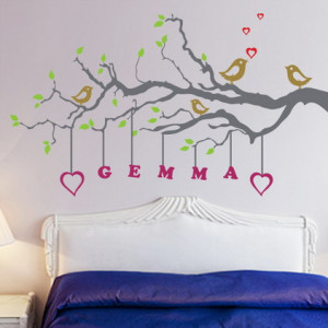 ... Decals with Name Quotes in Girls Bedroom Decorating Designs Ideas