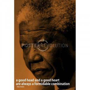 Nelson Mandela Quote iNspire Motivational Poster - 13x19