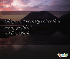 They can't possibly police that many profiles .